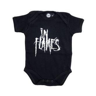 telo otroci In Flames - Logo - Črno, Metal-Kids, In Flames
