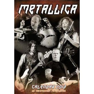 koledar do leto 2013 Metallica, Metallica