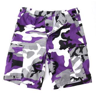 kratke hlače moški ZDA BDU - Army - Lila Camo, MMB