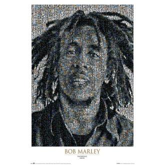 plakat Bob Marley - Mosaic II - GB Posters, GB posters, Bob Marley