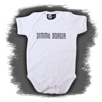 telo otroci Dimmu Borgir - Logo - Bela, Metal-Kids, Dimmu Borgir