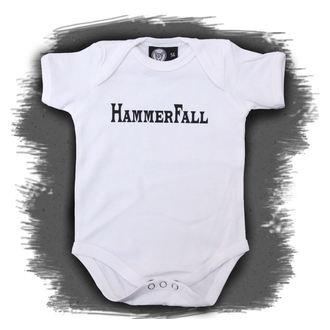 točke otroci Hammerfall - Logo - Bela, Metal-Kids, Hammerfall