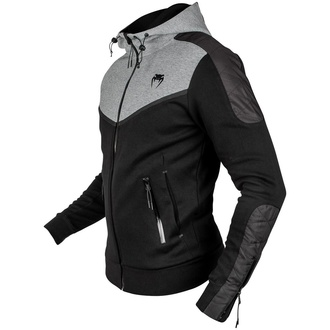 Moški pulover Venum - Laser Evo - Črna / Heather Siva, VENUM