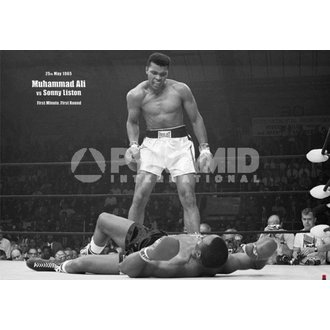 plakat Muhammad Ali Liston - Pokrajina - Pyramid Posters, PYRAMID POSTERS, Muhammad Ali