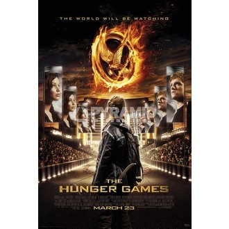 plakat Necam - Hunger Games - Pyramid Posters, PYRAMID POSTERS