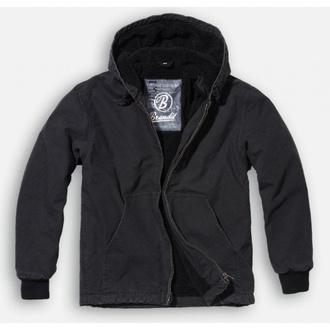 Moška zimska jakna BRANDIT - Manhattan - Črna, BRANDIT