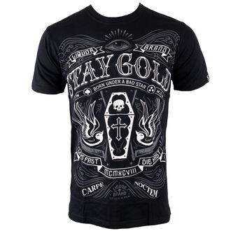 majica hardcore moški - Stay Gold - LIQUOR BRAND, LIQUOR BRAND