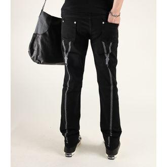 hlače ženske 3RDAND56th - Zadrga Nazaj Skinny Jeans, 3RDAND56th