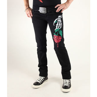 hlače ženske 3RDAND56th - Stella Rose Skinny Jeans, 3RDAND56th