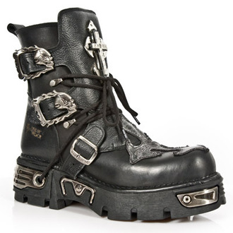 usnje čevlji - 1033-S1 - NEW ROCK