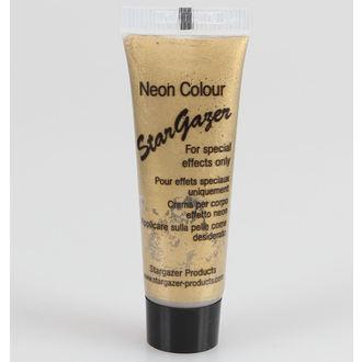 barva do telo a obraz STAR GAZER - Neon Gold, STAR GAZER