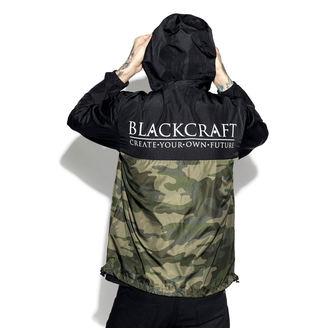Unisex pomlad / jesen jakna - Staple Black on Camo - BLACK CRAFT, BLACK CRAFT
