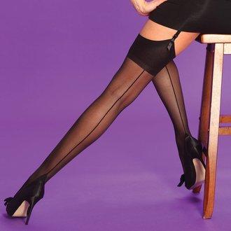 nogavice Legwear - Scarlet - Seamer, LEGWEAR