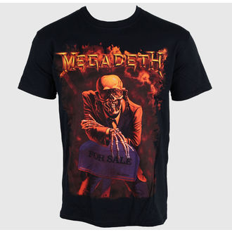 majica kovinski Megadeth - - LIVE NATION, PLASTIC HEAD, Megadeth