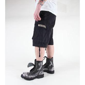 kratke hlače moški MIL-TEC - Paratrooper - Predpranje Črno, MIL-TEC
