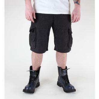 kratke hlače moški MIL-TEC - US Aviator - Predpranje Črno, MIL-TEC
