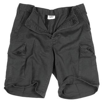kratke hlače moški MIL-TEC - BW Bermuda - Predpranje Črno, MIL-TEC