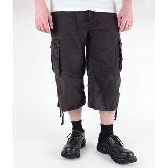 kratke hlače moški 3/4 MIL-TEC - Air Combat - Predpranje Črno, MIL-TEC