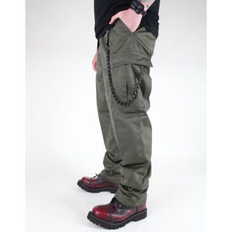 hlače moški MIL-TEC - US Feldhose - Oljka, MIL-TEC