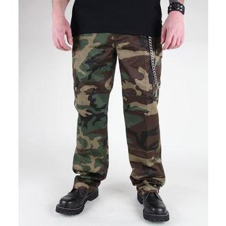 hlače moški MIL-TEC - US Feldhose - Woodland, MIL-TEC