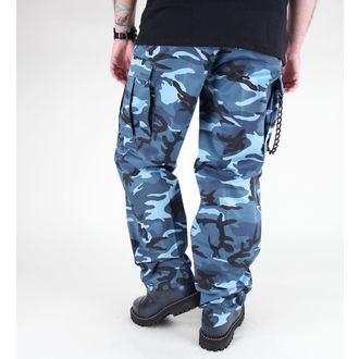 hlače moški MIL-TEC - US Ranger Hose - BDU Modro nebo, MIL-TEC