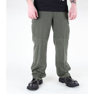 hlače moški MIL-TEC - US Feldhose - CO Predpranje Oljka, MIL-TEC