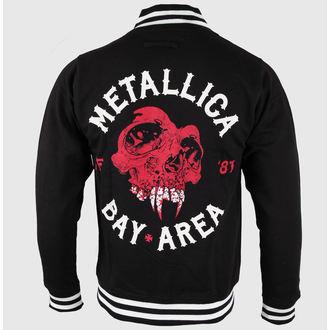 jopa s kapuco moški Metallica - Bay Area Skull -, NNM, Metallica