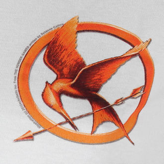 film majica ženske Hunger Games - Mocking Jay Pin - LIVE NATION, LIVE NATION