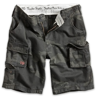 kratke hlače moški SURPLUS - Trooper - Črno Camo - 07-5600-42