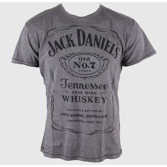 Moška majica Jack Daniels - Acid Washed - BIOWORLD, JACK DANIELS