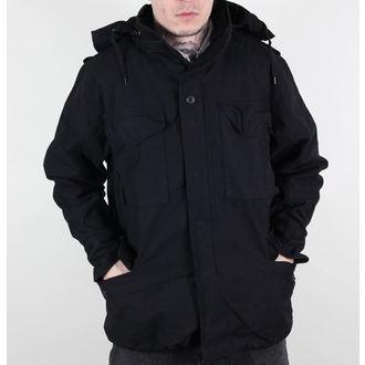 moška jakna M65 Fieldjacket NYCO washed - BLACK, MMB