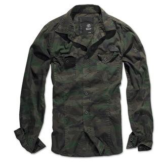 majica moški BRANDIT - Men Shirt Slim - Woodland - 4005/10košile moški BRANDIT - Men Shirt Slim -