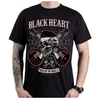 Moška ulična majica - ROCKABILLY BOY - BLACK HEART, BLACK HEART