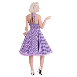obleko ženske HELL BUNNY - Charlotte - Lavndr, HELL BUNNY