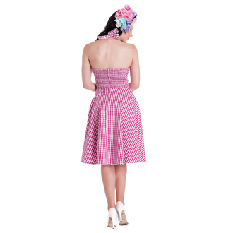 obleko ženske HELL BUNNY - Charlotte - Pink, HELL BUNNY