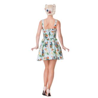 obleko ženske HELL BUNNY - Becky - Modra, HELL BUNNY