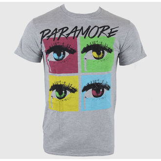 majica kovinski moški Paramore - Pop Tear Sports Grey - LIVE NATION, LIVE NATION, Paramore