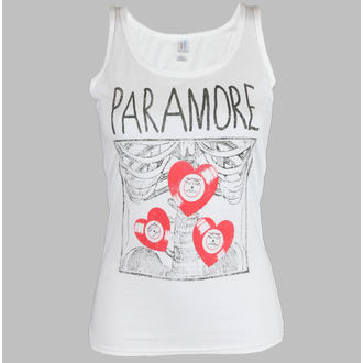 ženski top  Paramore - X Ray White - LIVE NATION, LIVE NATION, Paramore