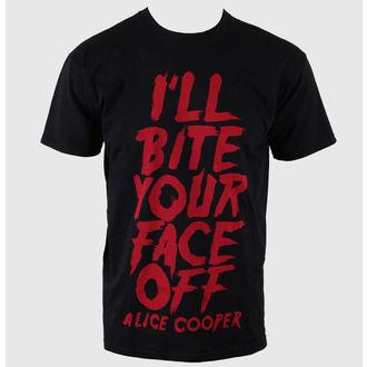 majica kovinski moški Alice Cooper - Bite Your Face Off - ROCK OFF, ROCK OFF, Alice Cooper