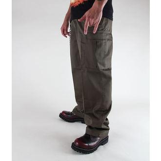 hlače moški BRANDIT - ZDA Ranger Cev Oljka, BRANDIT