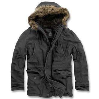 zima jakna moški - Vintage Explorer Black - BRANDIT, BRANDIT