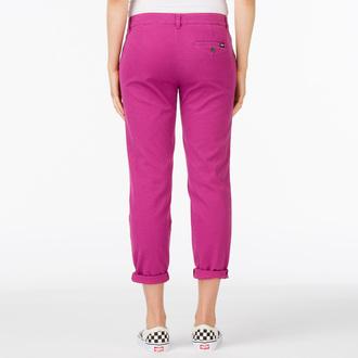 hlače ženske VANS - G Pleated Chino - Boysenberry, VANS