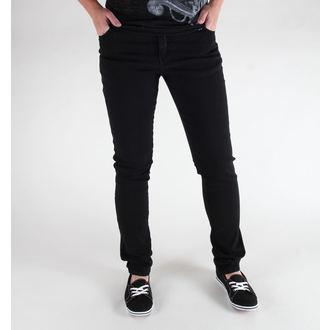 hlače (unisex) 3RDAND56th - Hipster Slim Fit - Črno, 3RDAND56th