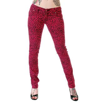 hlače ženske 3RDAND56th - Print Skinnies - Pink, 3RDAND56th