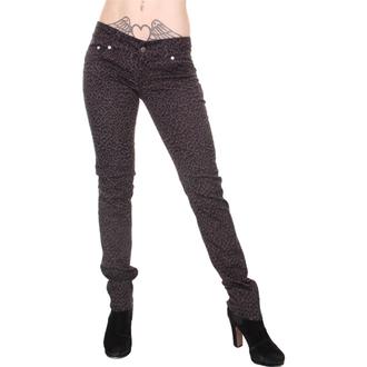 hlače ženske 3RDAND56th - Print Skinnies - Siva, 3RDAND56th