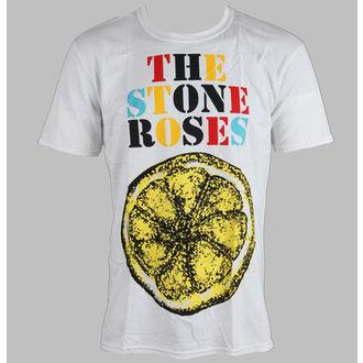 majica kovinski moški Stone Roses - Logo Lemon Multicolour - ROCK OFF, ROCK OFF, Stone Roses