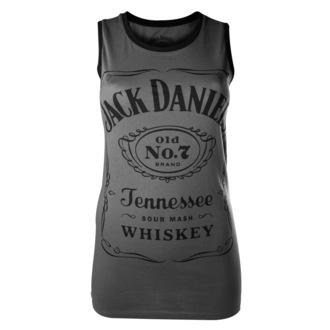 Ženska majica Jack Daniels - Siva - BIOWORLD, JACK DANIELS