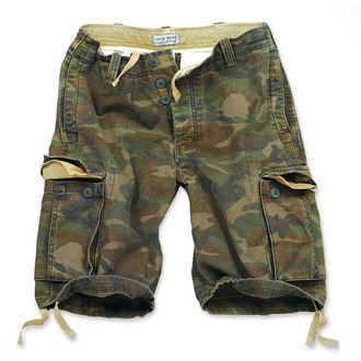 kratke hlače moški SURPLUS VINTAGE - Woodland - 05-5596-62
