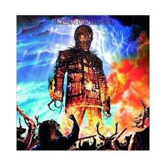 Čestitka Iron Maiden - Wicker Man - ROCK OFF, ROCK OFF, Iron Maiden