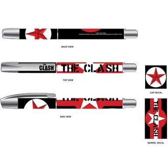 Pen The Clash - Star & Stripes - ROCK OFF, ROCK OFF, Clash